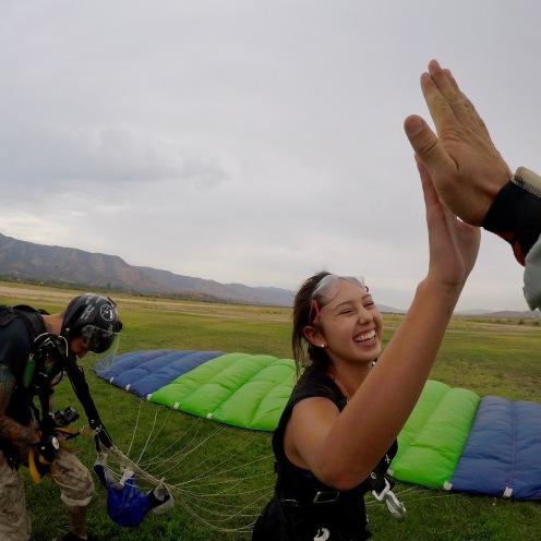 Skydiving!