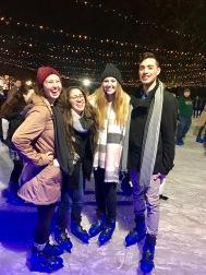 Ice Skating in Winter Wonderland